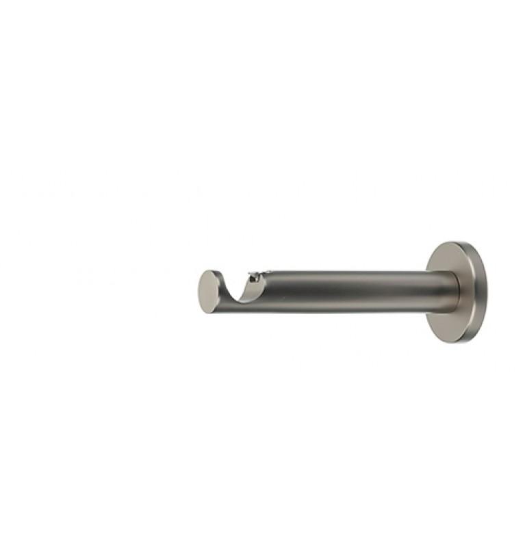 Wspornik pojedynczy prosty chrom mat 19 mm